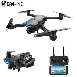 Eachine CG033 Quadcopter WiFi FPV w/ HD 1080P 2.0MP Gimbal Camera GPS Brushless Servo Foldable RC Drone Helicopter RTF Kids Gift