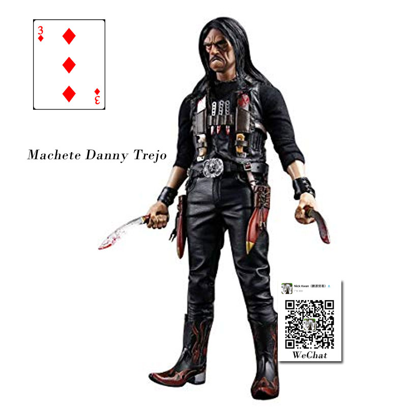 DAM TOYS 1/6 Scale Action Figure Model Toys The <font><b>Gangsters</b></font> <font><b>Kingdom</b></font> Diamond 3 Machete Danny Trejo Figure Model Toy For Collection image