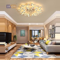 LED Modern Iron Acryl Crystal LED Lamp.LED Light.Ceiling Lights.LED Ceiling Light. Ceiling Lamp For Bedroom Foyer