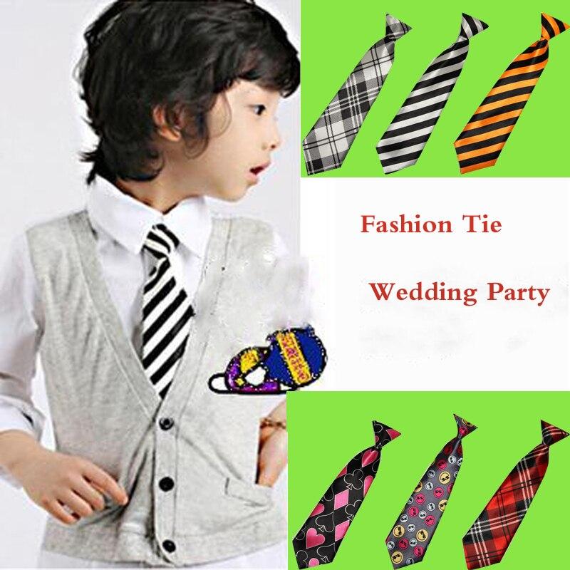 Children Baby&kids Boys Girls Elastic Necktie Tie Casual Neck Ties Wedding Party Accessories HD0001b