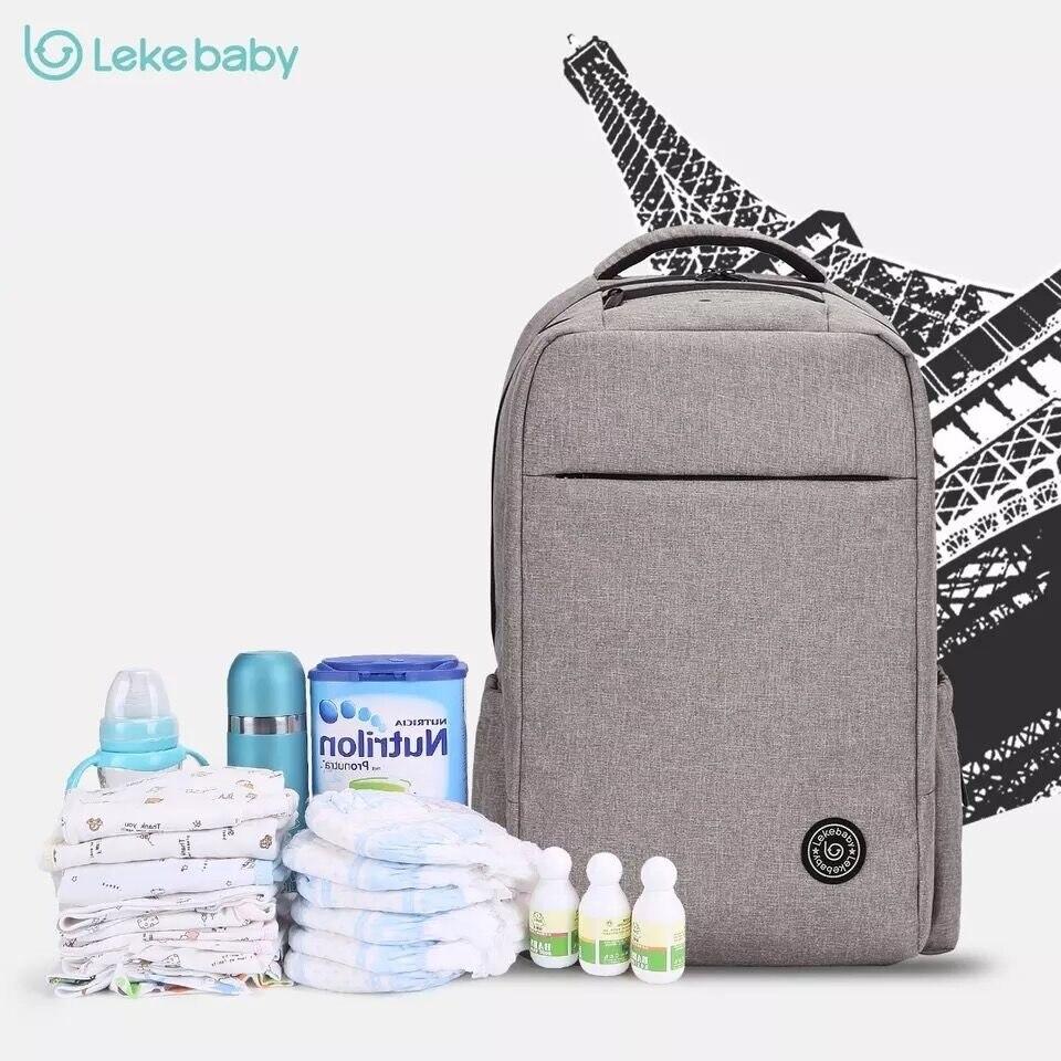 Lekebaby-sac à couches de maternité | Sac à dos de maternité, sacs à langer pour bébé, poussette, sac étanche pour papa, sac à dos de voyage