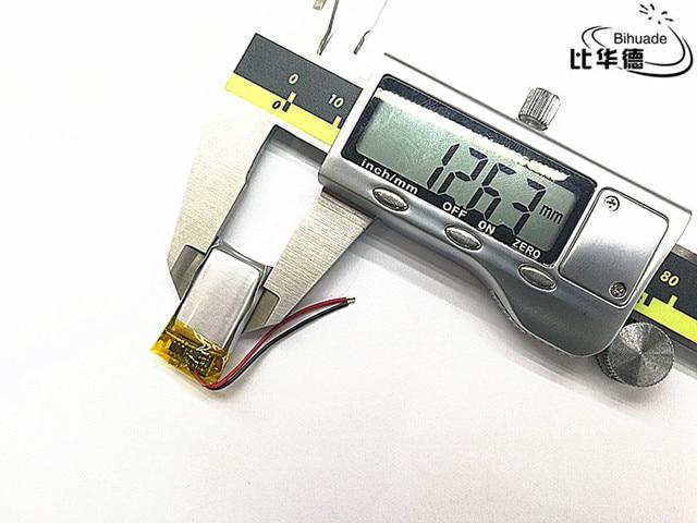 3.7 V, 150 mAH 601225 PLIB (batterie lithium-ion/Li-ion polymère) pour montre intelligente, GPS, mp3, mp4, téléphone portable, haut-parleur