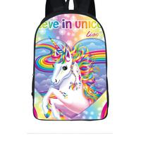 Children Small Backpack 16 Inch Kindergarten Kids bag Comfortable SchoolBag cute unicorn prints bag cheap school bag