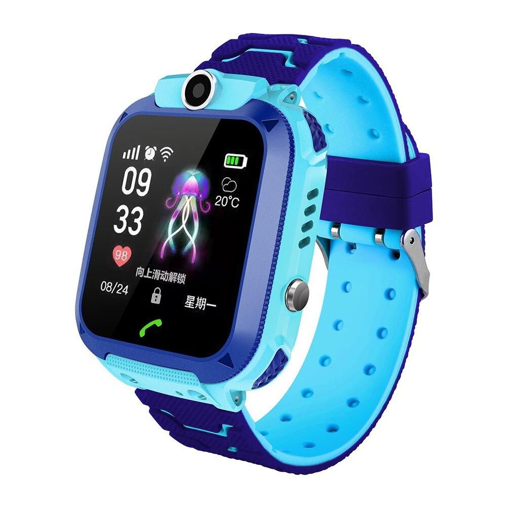 Children Wristwatch Support Waterproof Kids Q12 Safe Gift Smart Positioning-Camera Long-Standby