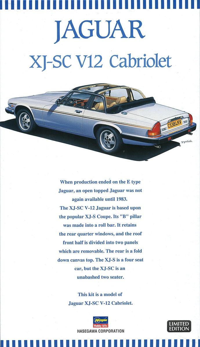 1/24 Jaguar XJ-SC V12 Sports Car 203521/24 Jaguar XJ-SC V12 Sports Car 20352