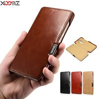 Genuine Leather Flip Case For Huawei Mate 9 Retro Luxury Business Cover For Huawei Mate 9