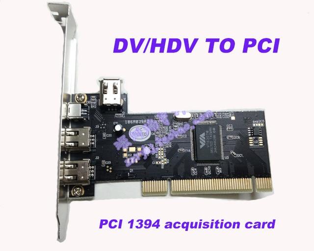 2017 Neue Dv/hdv Pci 1394 Video Capture Card Hd Video Capture Video Erfassungskarte Mit Kabel Für Dv Hdv Kamera Bequemes GefüHl