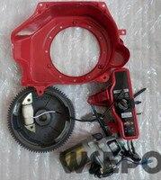 Chongqing Quality Electric Start Build Kit Incl Start Motor Housing Flywheel Coil Etc For GX160 GX200