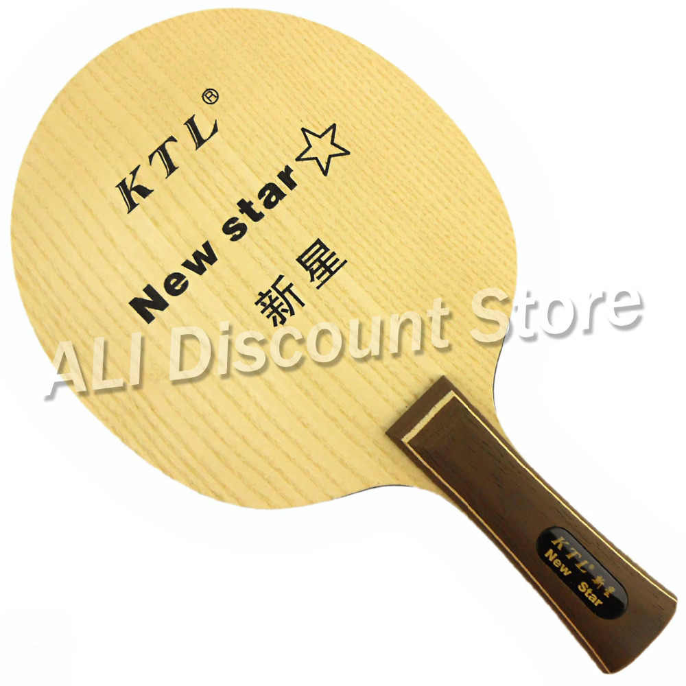 KTL New Star super light and super thin wooden Table Tennis Racket Blade for ping pong paddle