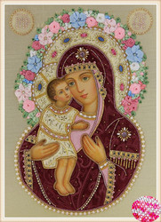 2018 new DIY crystal The Notre Dame and the prince diamond Embroidery Icon religion Pharaoh Rhinestones Cross Stitch Kits gift