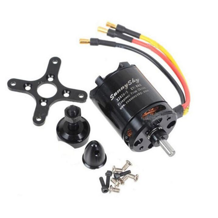 SunnySky X2826 550KV 740KV 880KV 1080KV Outrunner External Brushless Motor for RC Helicopter Drone UAV RC FPV Frame Quadcopter carbon fiber mini 250 rc quadcopter frame mt1806 2280kv brushless motor for drone helicopter remote control