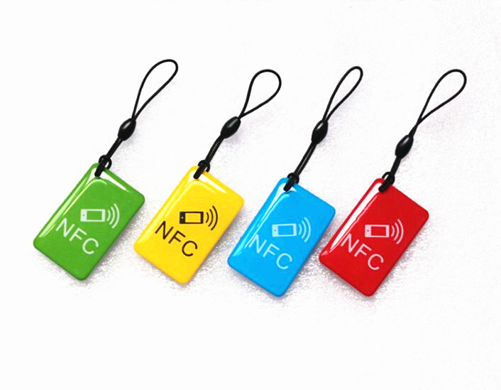 ntag203 4 Pcs/lot 13.56mhz Rfid Smart Card Key Token Label For All Nfc Android Phone Nfc Tags Ndef Ntag213 Buy Cheap