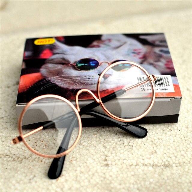 1Pcs Hot Sale Dog Pet Glasses For Pet Products Eye-wear Dog Pet Sunglasses Photos Props Accessories Pet Supplies Cat Glasses 2