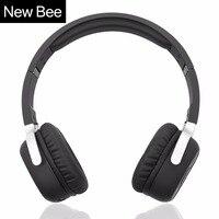 Neue Biene Drahtlose Bluetooth Kopfhörer mit Mikrofon NFC Sport Bluetooth Headset mit App Stereo Kopfhörer für Handy Computer TV