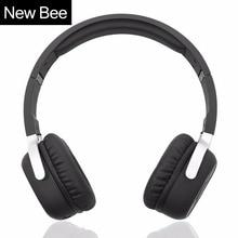 Новый Би Беспроводной Bluetooth наушники с микрофоном NFC Спорт Bluetooth гарнитура с APP стерео наушники для телефона компьютер ТВ
