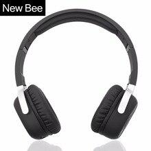 ใหม่ผึ้งไร้สายบลูทูธกับไมค์NFCกีฬาชุดหูฟังบลูทูธกับPedometer Appสเตอริโอหูฟังสำหรับโทรศัพท์คอมพิวเตอร์