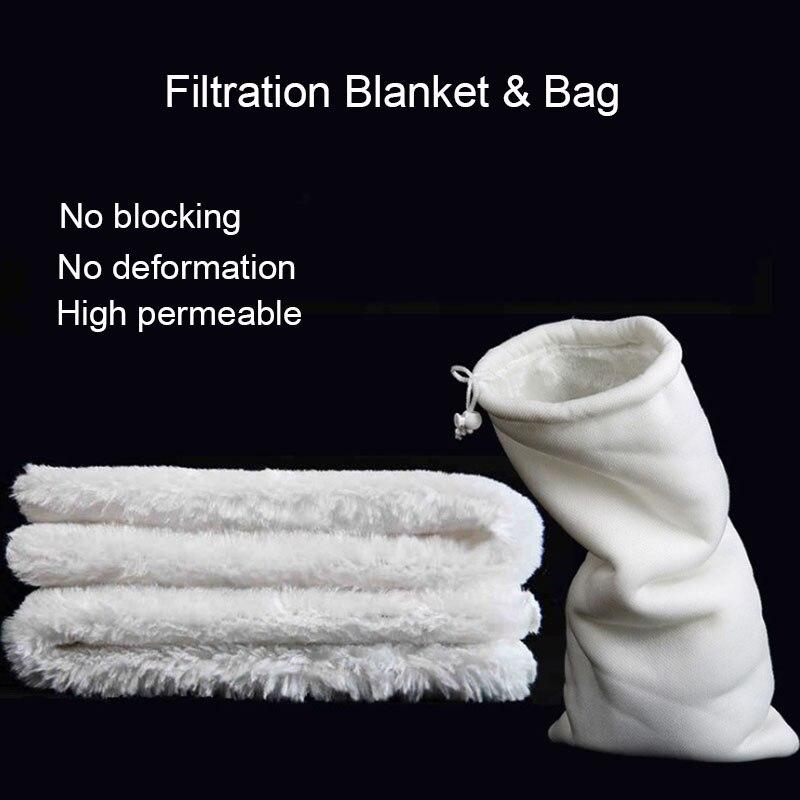 Aquarium Filter Reuse Wash Filter Magical Blanket Bag Pad Biochemical Biological Filtration Clean For Fish Tank Bottom Filter