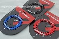 Fouriers CR-DX007-OV CNC Bike Pojedynczy Łańcuch Pierścień 34 T 36 T Rowerów Chainrings P.C.D 104 Kształt Owalny Kompatybilny Dla S h i m a n o