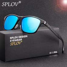 ФОТО splov 2018 new aluminum magnesium polarized sunglasses men sunglass women square sun glasses classic driving eyewear eyeglasses