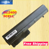 HSW Laptop Battery For HP For COMPAQ 2400 nc2400 nc2410 2510p 9cell
