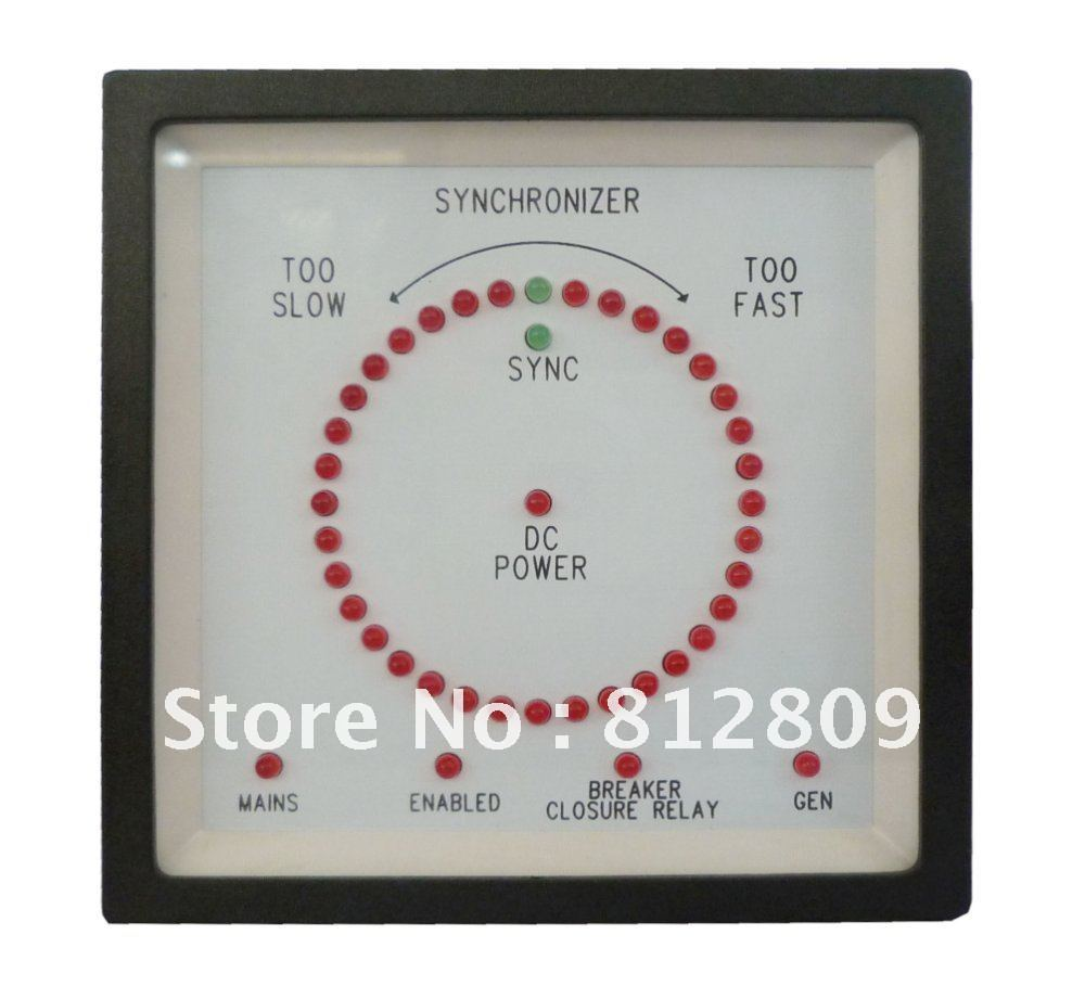 6714 Synchroscope Meter free fast shipping 6714 Synchroscope Meter free fast shipping