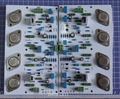 A1000 30 Вт + 30 Вт Класс MJ15011 15012 Усилитель Двухканальный BC550 BC560 2SA1073