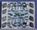 A1000 30 W + 30 W Classe A MJ15011 15012 Amplificador Two-Channel BC550 BC560 2SA1073