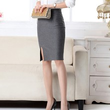 Sexy Office Lady Skirts Female Bodycon High Waist Pencil Skirts