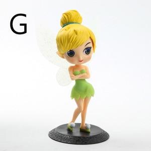 Image 2 - Disney 10 cm S versiyonu Kar Beyaz Prenses Alice Denizkızı şekil Alice in Wonderland Ariel Küçük Denizkızı PVC şekilli kalıp oyuncak