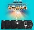 Высокое Качество 14 Вт Портативный Солнечное Зарядное Устройство для Мобильного Телефона iPhone Складной Моно Панели Солнечных Батарей + Складная Солнечной Батареи USB зарядное устройство