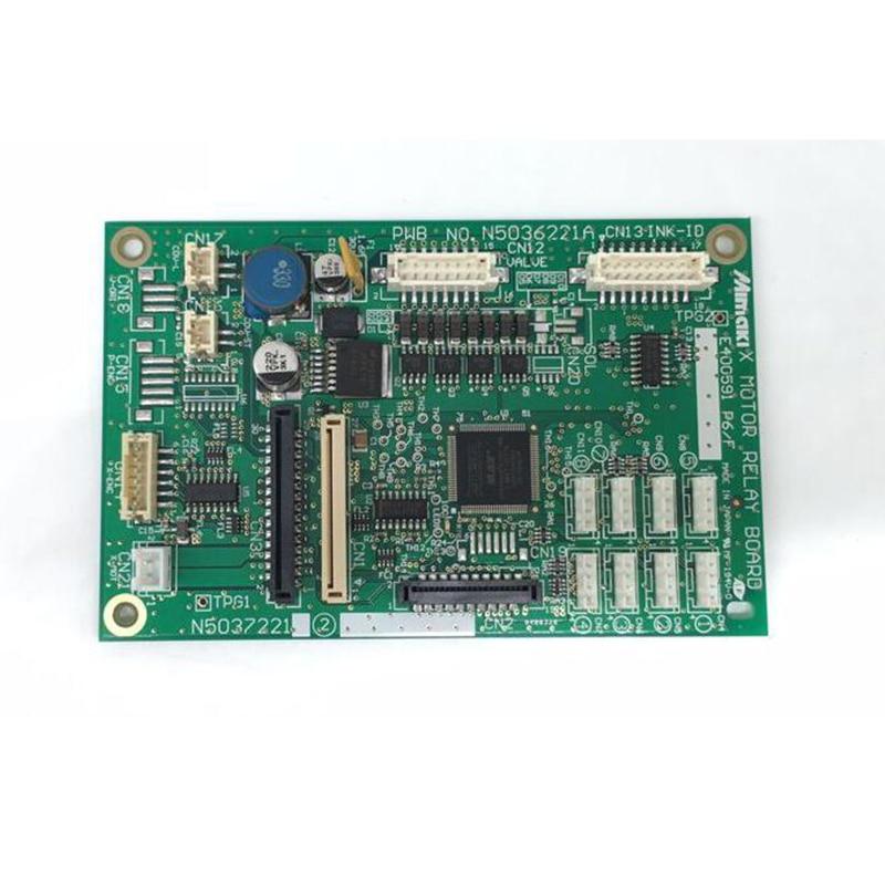 Mimaki TS-34 X-Axis Motor Relay board PCB Assy E104856