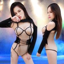 Новый сексуальный ночной клуб gogo певец dj свинцовая танцевальная одежда для бара ds одежда для выступлений Женская Бесплатная доставка