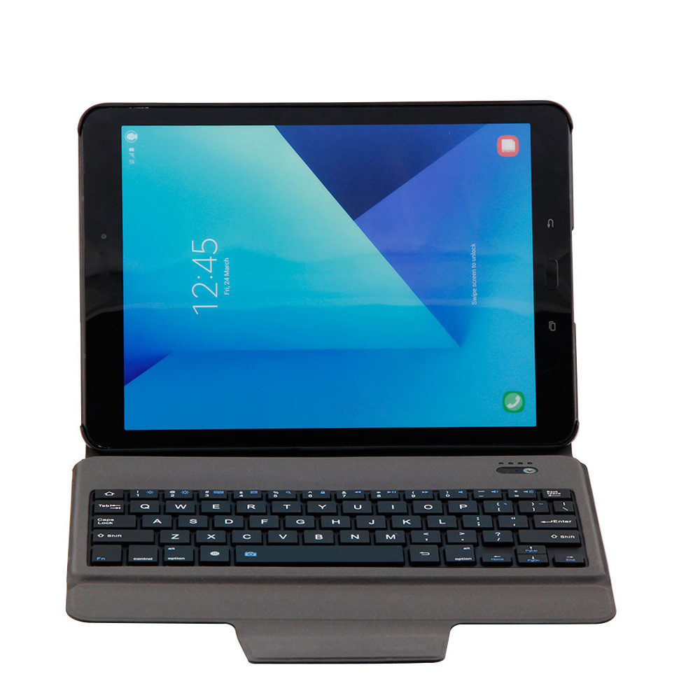 Ultra Slim Bluetooth Keyboard with Leather Case Cover For Samsung Galaxy Tab S3 36.68 #T09
