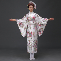 Elegantes Damas de La Moda Japón Ropa Casual de Estilo Japonés Albornoz Kimono Yukata Mujeres Homewear Chándal Ropa de Disfraces