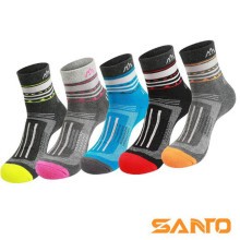 Men Women Sports Socks (3 Pairs/lot) SANTO/S049/S050 Cotton Quick Dry Outdoor Hiking
