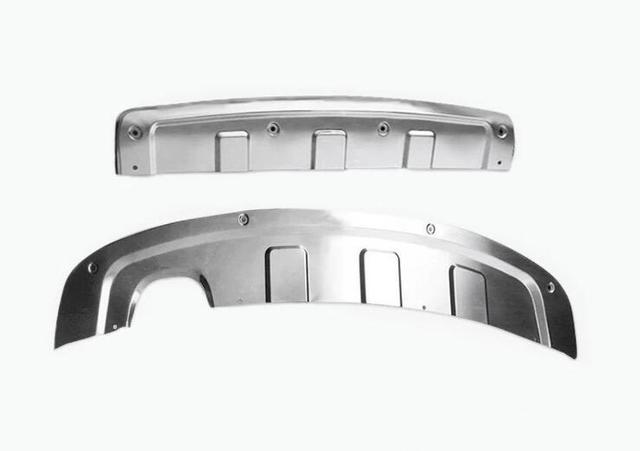 JIUTAI Protection De Pare-Chocs Arri/èRe Ultrathin Inoxydable Pare-Chocs Arri/ère Protecteur Sill Garde P/édalez pour Skoda Superb 2016 2017 2018 2019