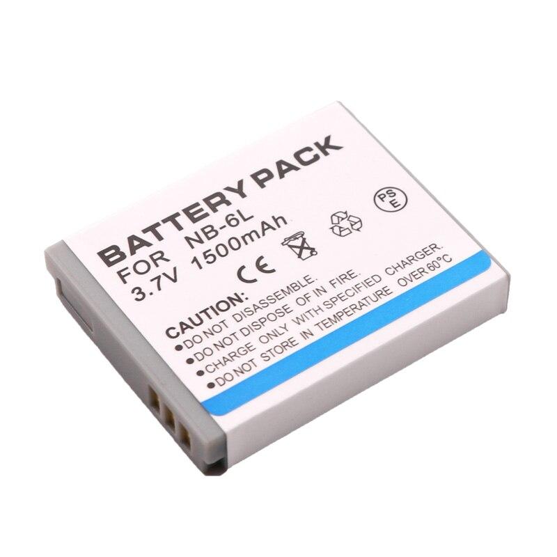 Cargador USB 105 NB-6L para Canon IXUS 85 IS 210 300 HS 95 IS 107 200 IS