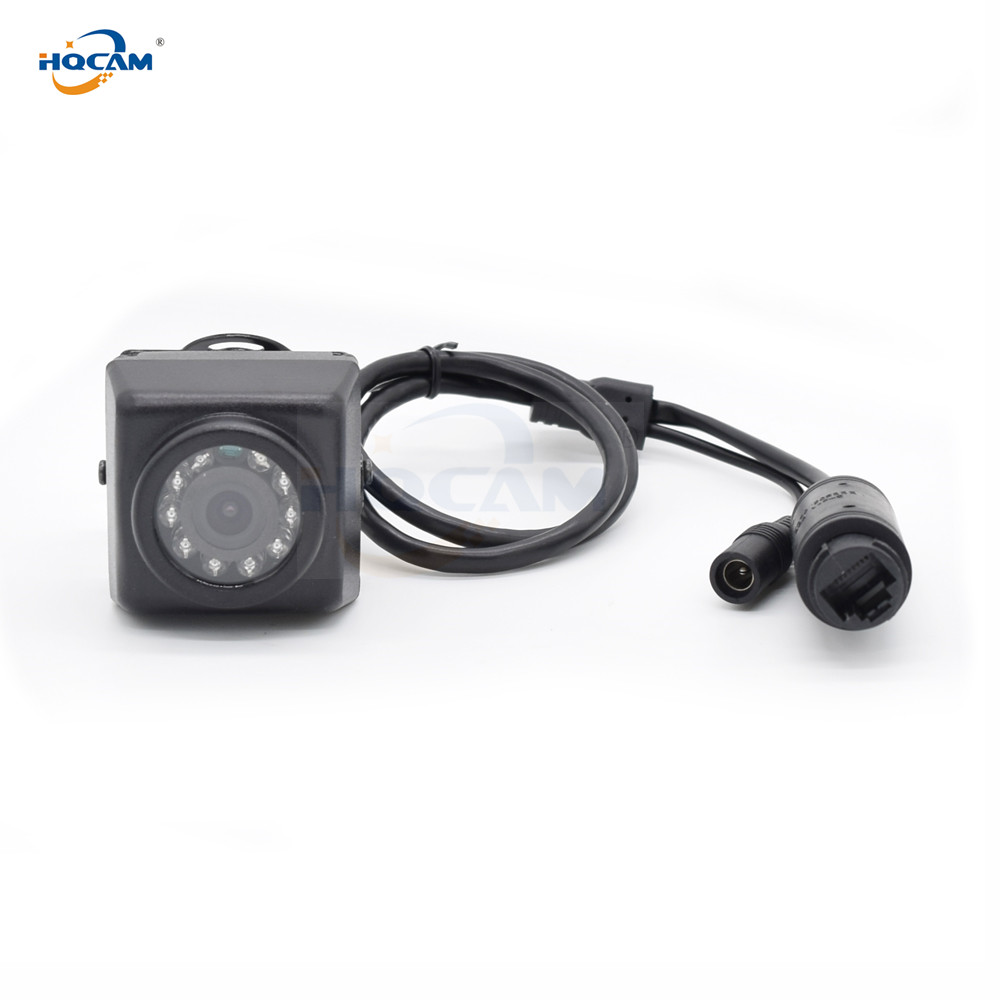 H.265 Camhi 48v POE TF Card Mini IP Camera 5MP 3MP Outdoor Night Vision Mini Ip Camera Webcam Doorway Bird Nest Camhi Camhipro