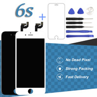 For IPhone 6S LCD Display 4 7 Inch No Dead Pixel Black White Touch Screen Digitizer