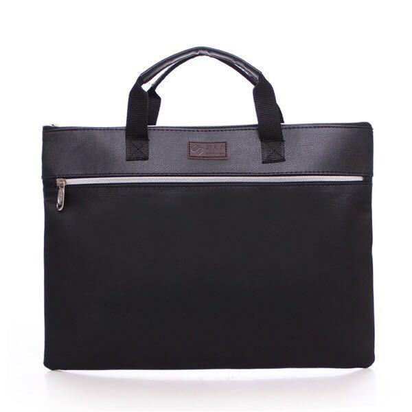 PU Läder Ny Portfölj Företag Mäns Kuvert Paket Solid - Portföljer