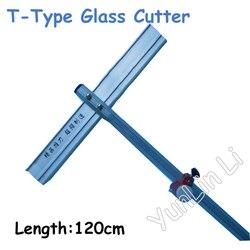 120 centimetri T-Tipo Taglierina di Vetro di Alta Qualità A Lungo di Tipo Tagliatore di Vetro