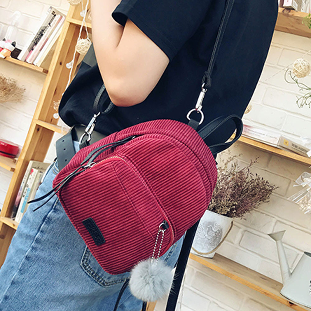 ISHOWTIENDA Backpacks Schoolbags Shoulder-Bag Rugzak Travel Small Casual Women Mochila
