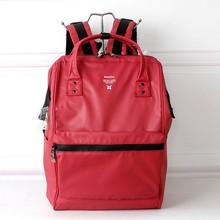 Новый японский водонепроницаемый рюкзак большой емкости, Мужская и Женская Студенческая сумка для компьютера