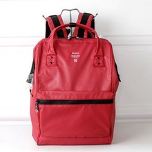 New Japanese waterproof large capacity backpack, male and female students pack computer bag