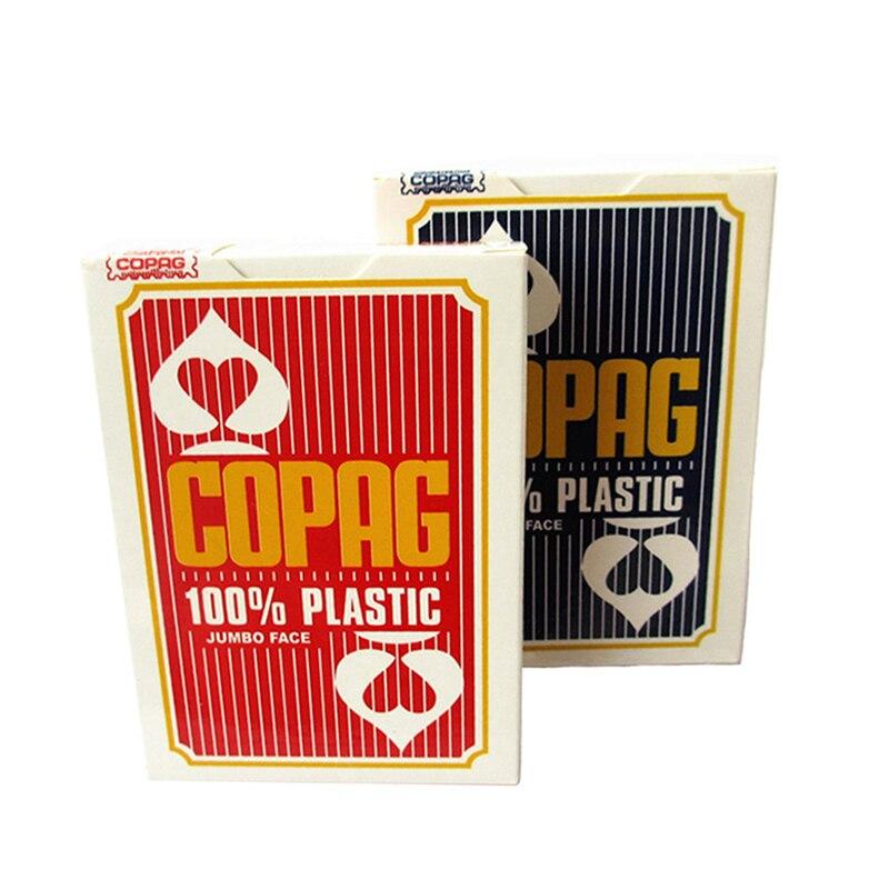 Copag Plastic Playing Cards 88*63mm Jumbo Face Belgium Poker Cards Casino Accessory