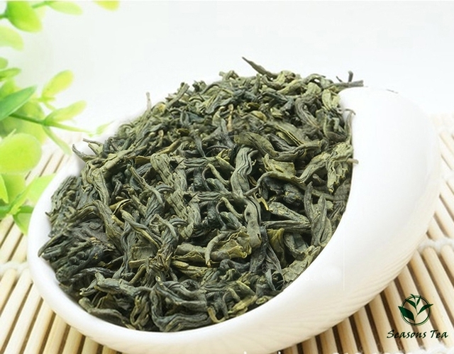Китайский Лушань Зеленый Облако-туман Чай Здравоохранения Потеря Веса 250 г