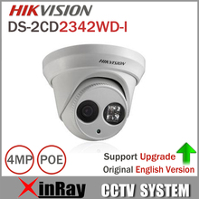 Hikvision Original English Version DS-2CD2342WD-I 4MP WDR EXIR Turret Network Camera MINI Dome IP Camera CCTV Camera