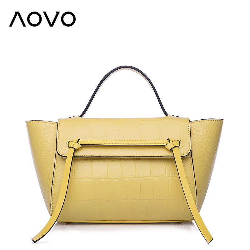 ФОТО Luxury Alligator pattern Genuine leather women handbag Fashion wings bag Small catfish beltbag casual yellow shoulder bags