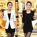 2017 new women fomal suit coat sleeve outwear office lady business blazer
