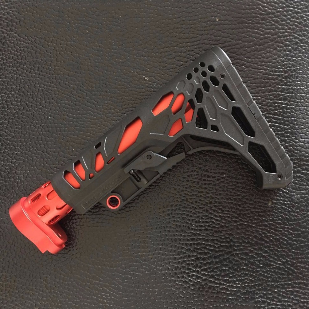 Zhenduo Toy Free shipping Metal AR gun Butt Toy Gun Accessories zhenduo toy xm316 split gun body toy gel ball gun accessories free shipping